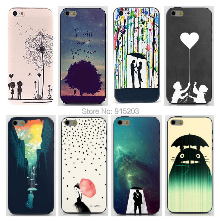 1pcs Lovely Dandelion PC Hard Case Cover Housing for Cell Phone 4 Factory Wholesale Cases for iPhone 4s Best Gift(China (Mainland))
