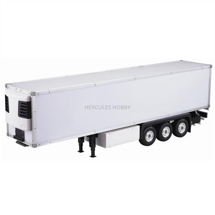 [HERCULES HOBBY] TAMIYA 1 14 Scale RC Model Tractor Trucks Trailer 40 Foot Reefer Made China - HERCULES HOBBY store