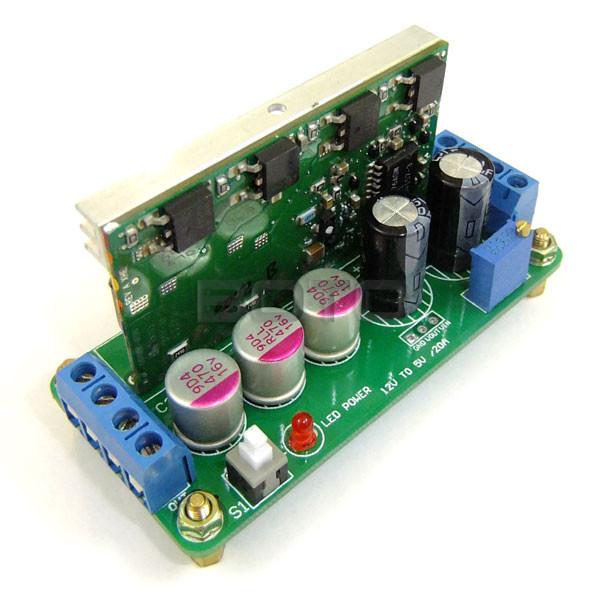 100 PCS/LOT DC Buck Converters 10-14V to 2-5.5V 15A Peak 20A High Current Power Supply DC Stepdown Converters Module #0900463(China (Mainland))