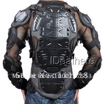 2012Free shipping body armor racing Armor,motorcycle armor,motor protector-black .dfty