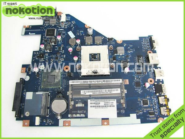 laptop motherboard for ACER 5742 NV55C LA-6582P INTEL HM55 INTEGRATED DDR3 Mother Board high quality(China (Mainland))