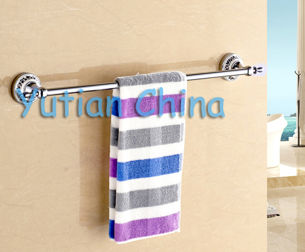 Free Shipping Stainless Steel Ceramic Bathroom Accessories Paper Holder Towel Bar Soap Basket