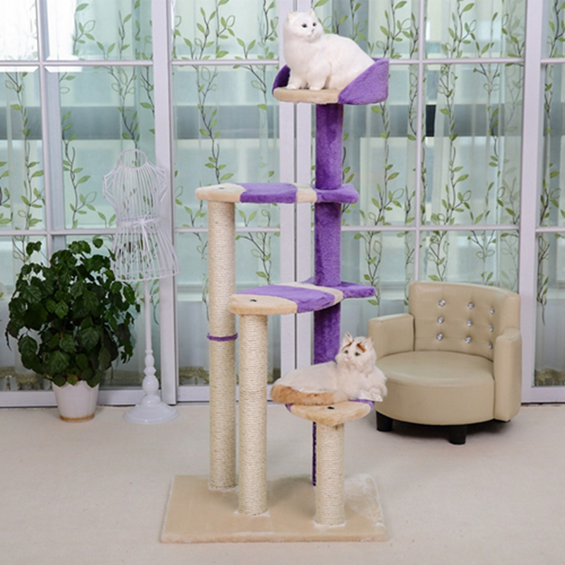 Cat Post and Multi Level Activity Tree