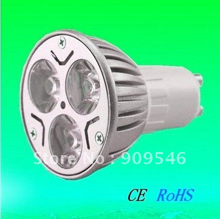 Free shipping by DHL 30x LED GU10 Lamp Energy Saving Lamp Led Spot light 3x3w 100% CREE Chip 580lumens<br><br>Aliexpress