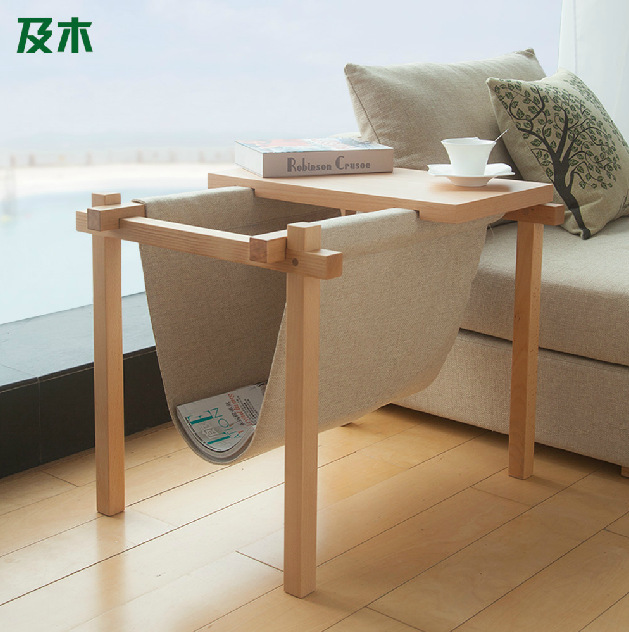 Creative furniture coffee table contracted fashion console Sofa side table