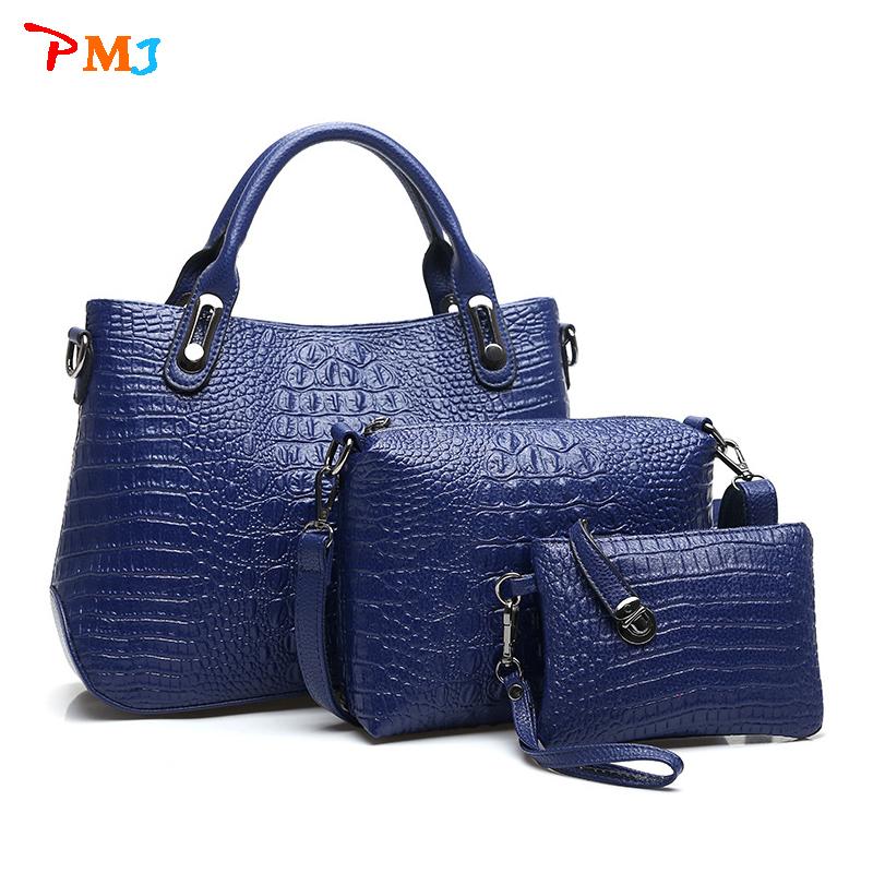2015 women's handbags made of genuine crocodile skin bag Crossbody bag fashion postman shoulder bag Bolsas women messenger bags(China (Mainland))