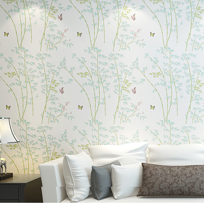 wohnzimmer wände tapeten:Bamboo Design Wallpaper