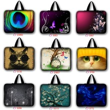 Buy waterproof Notebook Laptop sleeve bag case Computer cover pouch tablet PC 9.7'' 10 13 15 15.6 17 inch Laptop bag LB-nine2 for $6.91 in AliExpress store