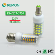 Buy Super LED Bulb E27 E14 220V 230V SMD 5730 LED Lamp 24 36 48 56 69leds AC 240V 5730SMD LED Corn Bulb light Chandelier AC200-240V for $1.07 in AliExpress store