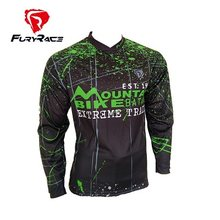 FURY Racing 2017 мужские майки для горного велосипеда MTB рубашки для внедорожников DH мотоциклетные Джерси для мотокросса спортивная одежда BMX одеж...(China)