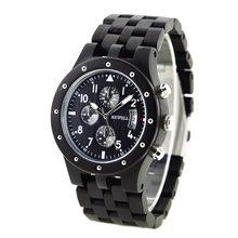 BEWELL marque de luxe hommes bois Quartz montre-bracelet hommes Sport étanche montre homme chronographe horloge Relogio Masculino 109D(China)