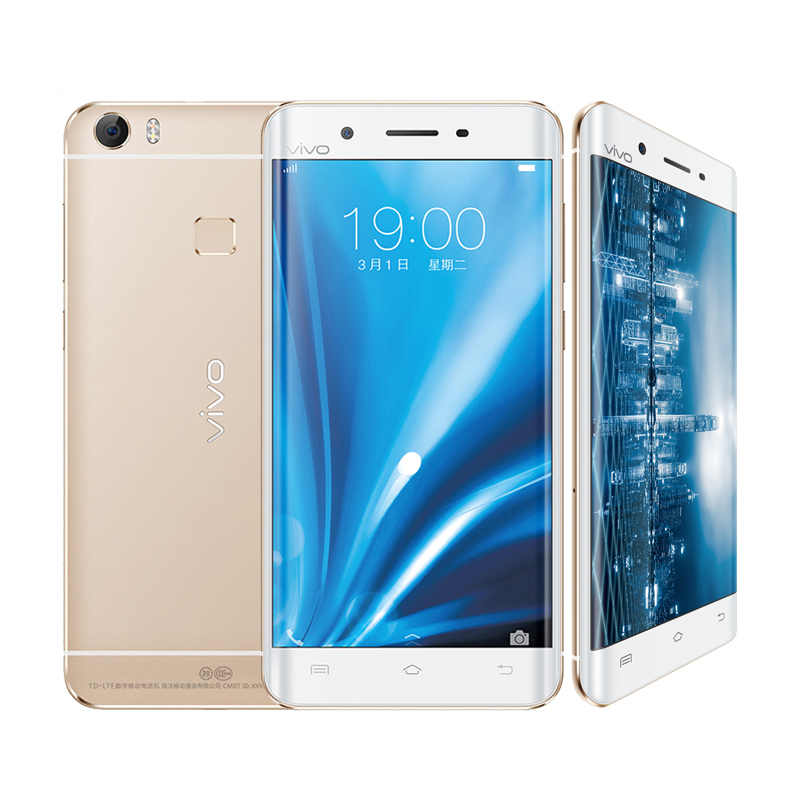 Original VIVO Xplay5 Xplay 5 Cell Phone Full Metal Curved Edge 5.5 inch 2K 128GB ROM Haste Fingerprint HIFI Worldwide Network(China (Mainland))