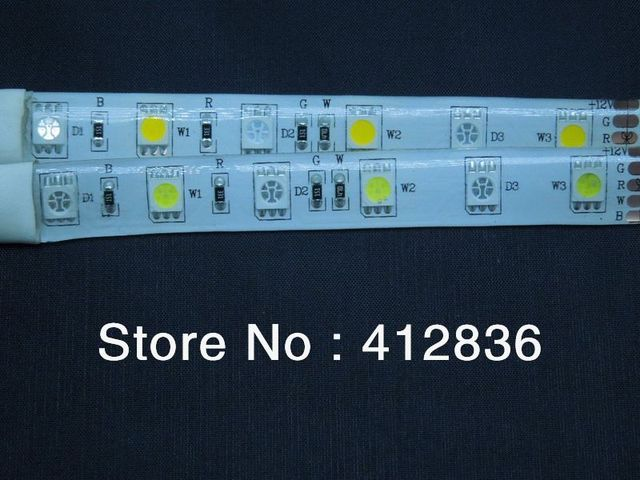 High Brightness Epistar SMD5050 60LEDs/M RGBW LED Strips