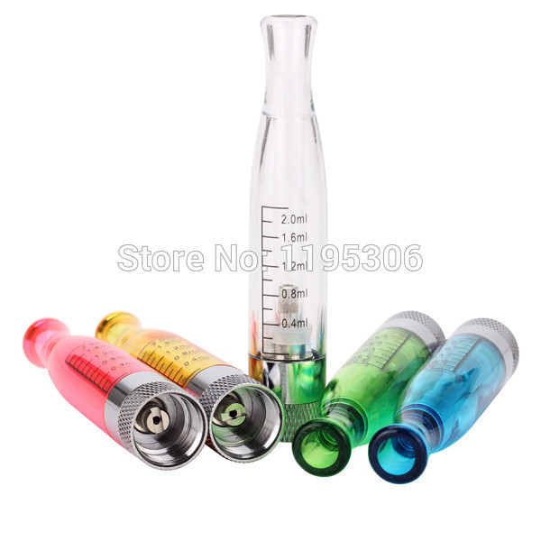 cheaper GS H2 Atomizer Hot GS H2 Clearomizer no wick Rainbow color atomizer Compatible with All