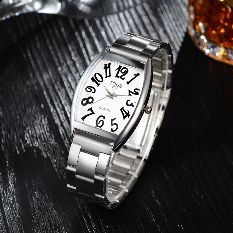 2016 New Fashion Watches Men Luxury Brand Classic Full Steel Watch Square Dress Quartz Casual Wristwatch Black - Shine Factory store