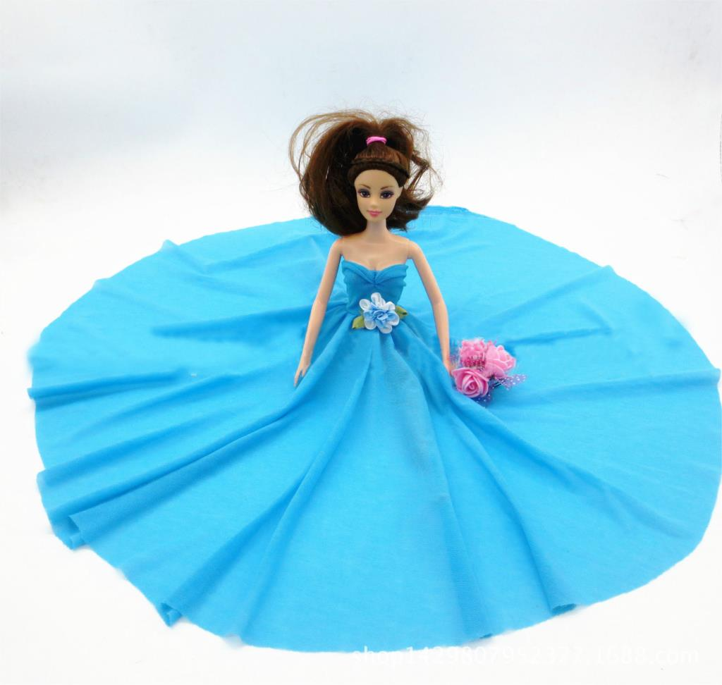 Children Toy Doll Equipment Handmade Doll Garments Night Wedding ceremony Gown Get together Gown For Barbie Doll For 1/6 BJD Dolls