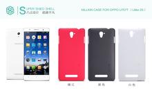 Genuine Nillkin Super Shield Shell Hard Case Cover Skin Back + Screen Protector For OPPO Ulike 2S U 2S U707t 10pcs/lot