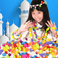 128 Piece Set DIY variety of other color children toys hand beaded girls DIY string beads