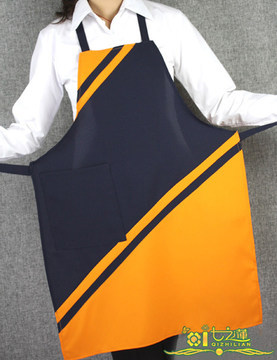 071985 Japanese-style hotel uniforms beauty salon wear sleeveless aprons fashion simple and elegant(China (Mainland))