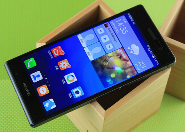 Original Huawei P7 cell phone 4G FDD LTE New incell screen Kirin 910T 2GB RAM 16GB ROM 13MP+8MP Multi-Language SmartPhone(China (Mainland))