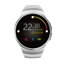 Buy Original KW18 Full Round IPS Heart Rate Smart Watch MTK2502 BT4.0 Smartwatch ios Android Intelligent Watch pk h88 DZ09 for $57.77 in AliExpress store
