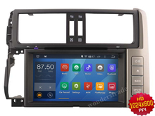 Android 4.4  Car DVD player Radio Stereo GPS for Toyota Prado 2010-2012 Land Cruiser 150 /   3G OBD DVR WIFI
