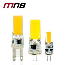 10PCS/lot LED G4 G9 Lamp Bulb AC/DC 12V 220V 6W 9W dimmable COB SMD LED Lighting Lights replace Halogen Spotlight Chandelier(China (Mainland))