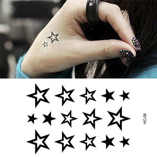 2017 новый стиль водонепроницаемый временные татуировки поддельные флэш татуировки наклейки Taty тату хной tatto