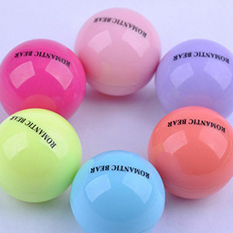 Ball Lip Balm Lipstick Lip Protector Sweet Taste Embellish Lip Ball Makeup Lipstick Gloss Cosmetic Accessories