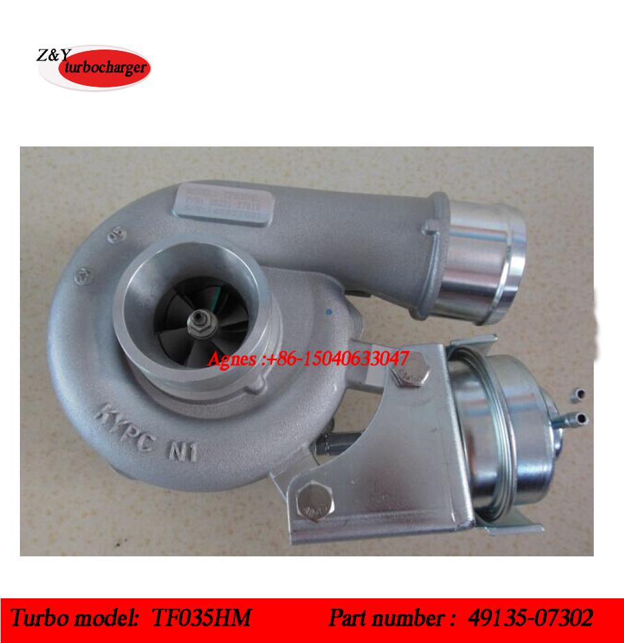 49135-07310, 49135-07312 TF035VNT 49135-07302 турбо TF035HM 49135-07300 для 2006-09 Hyundai Santa Fe CRDi с E4EB двигателя