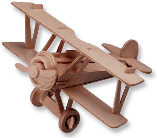 3D Wooden Puzzle Small Biplane Model Nieuport 17 Great Intelligence Children Educational Toy Hot Selling(China (Mainland))