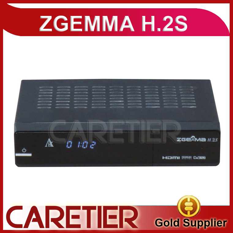 Zgemma H.2S TV Box Media Player Channel Receiver Linux Multimedia HDMI up to 1080p Smartcard-Reader DVB-S2 Tuner free by DHL(China (Mainland))