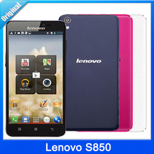 Original Lenovo S850 S850T 16GB ROM + 1GB RAM 5.0 inch Android 4.4 SmartPhone MTK6582 Quad Core 1.3GHz GSM Dual SIM 13MP Camera(China (Mainland))