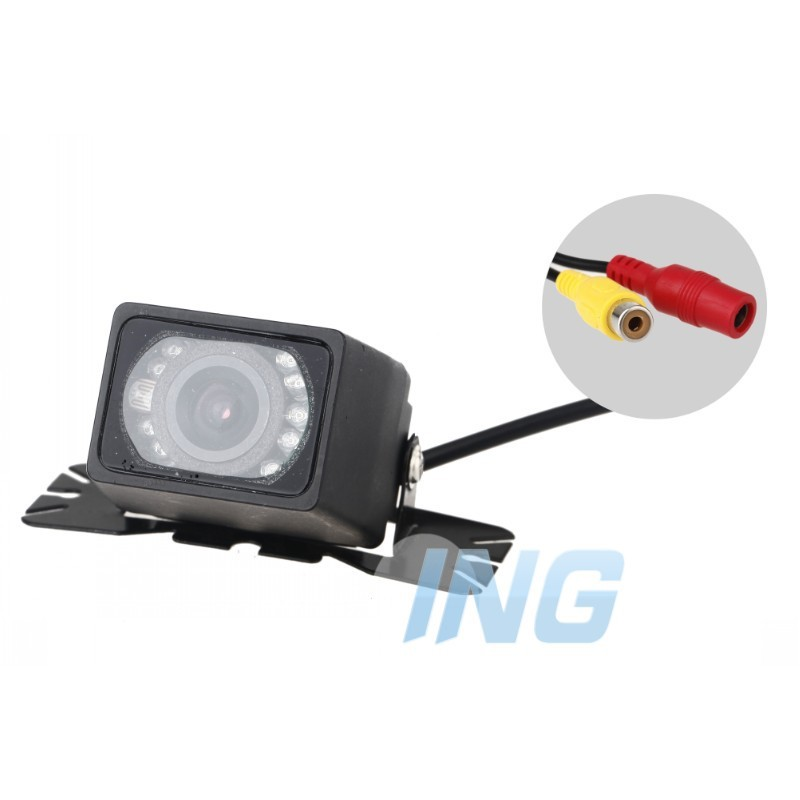 2.4GHZ E327 10LED night vision Waterproof Video Wireless Car Rearview reversing Camera For DVD (Free Shipping)(China (Mainland))