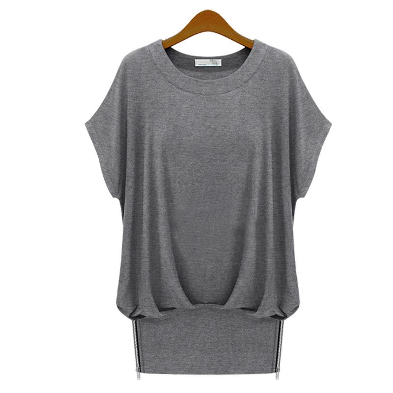 2015 t shirt dress european fashion bat short sleeve loose for European mens dress shirts