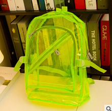 2015 new fashion Candy color crystal women backpacks jelly shoulder bag for lady factory outlet(China (Mainland))