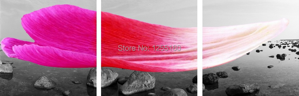 Three board creative photography. Art print canvas painting. Wall painting murals. Sitting room hangs a picture. CY - 305(China (Mainland))