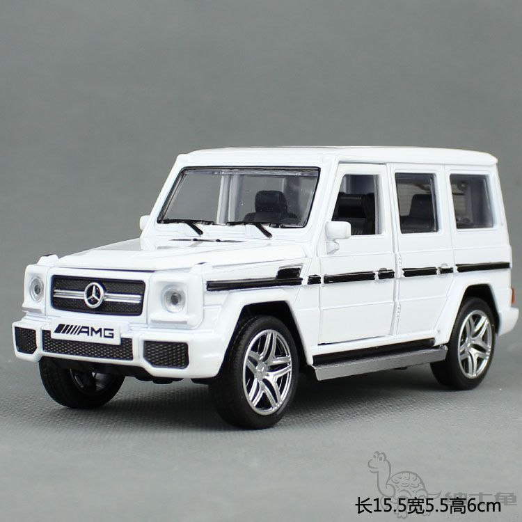 1:32 imitation of the Mercedes-Benz G65 AMG G55 alloy car model sound and light off-road vehicle back of the tin toy car(China (Mainland))