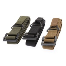 48 Canvas Military Tactical Belt Black Slider Buckle 3 Colors for men Newest Fashionable Nice Shades
