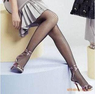 Best Discount Vogue Elegant women's leggings fishnet stocking Fine mesh pantyhose tights Wholesale price retail Free shipping