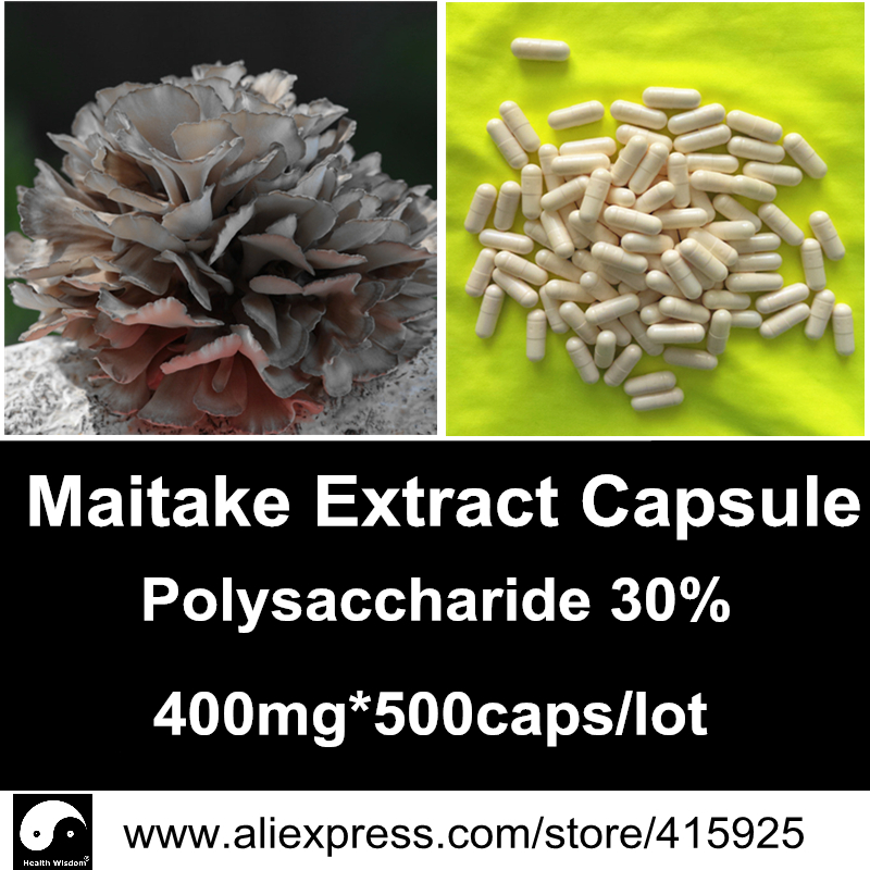 Grifola Frondosa Extract Powder Capsules 30% Maitake Polysaccharide Caps Mushroom Nutrition Immune System Dietary Supplements<br><br>Aliexpress