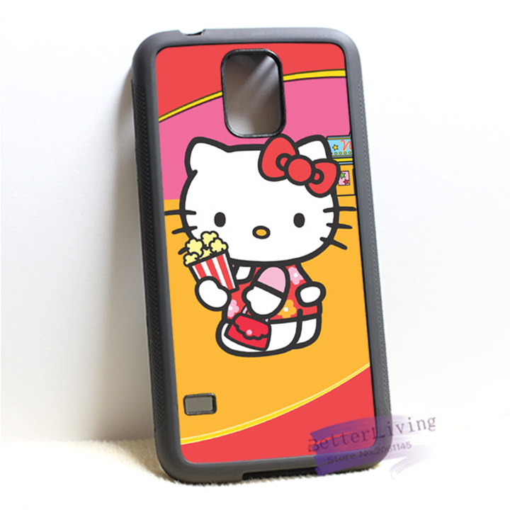 hello kitty sanrio 3 fashion cell phone cover case for samsung galaxy S3 S4 S5 S6 edge S7 edge Note 3 4 5 #P5646(China (Mainland))