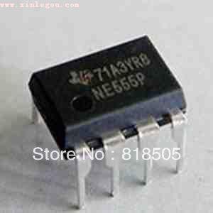 NE555P Timer Integrated Circuit DIP-8 555 timer IC Chip , 50pcs. free shipping , NE555 555P