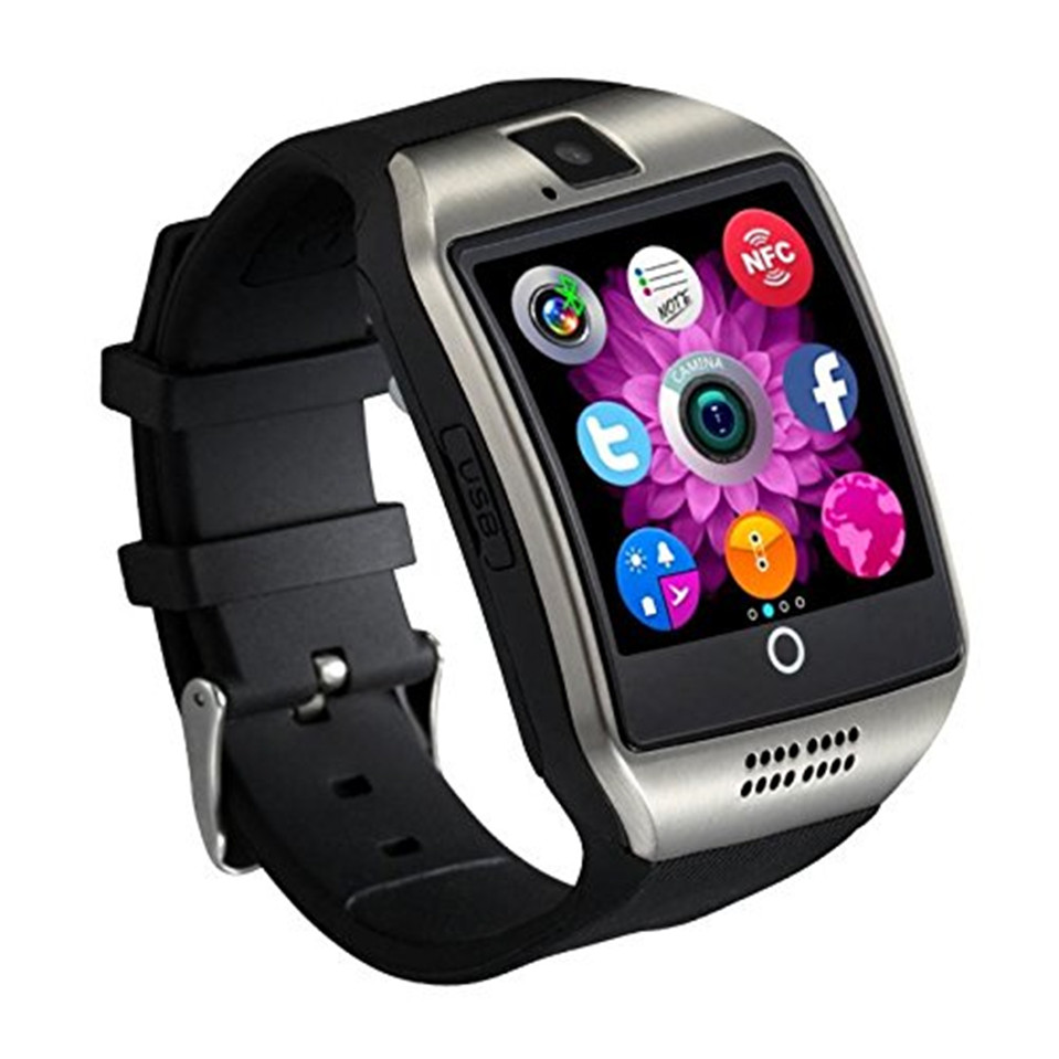 High Selling Smart Watch Q18 with Touch Screen camera TF card Bluetooth smart watch apro for Android and IOS Phone Free Shipping(China (Mainland))