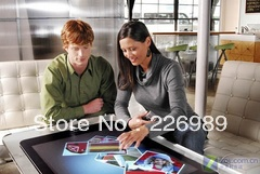 Best price of 40 inch IR touchScreen Panel / 4 real touch points Free shipping(China (Mainland))