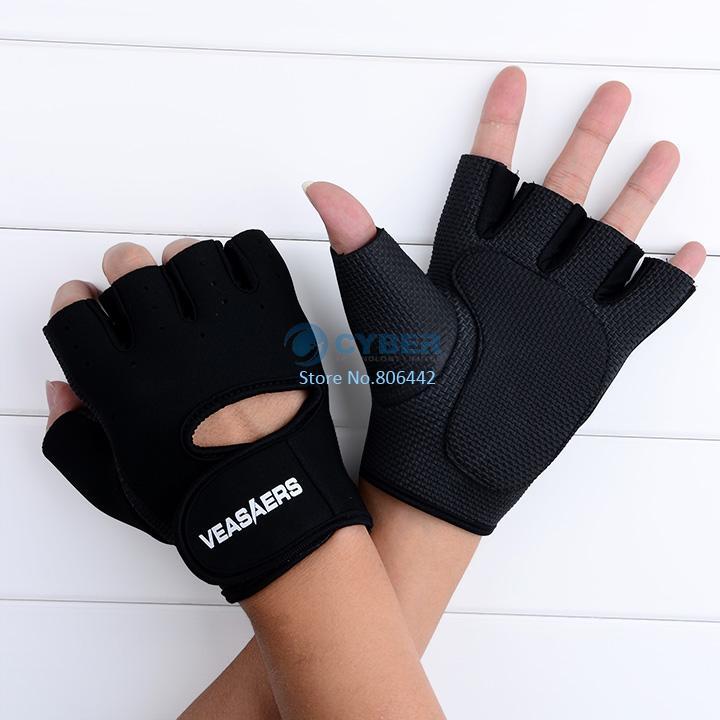Gym Body Building Training Fitness Gloves Sports Weight Lifting Exercise Slip-Resistant Men Women 18 - Shenzhen Cyber Technology Ltd. store
