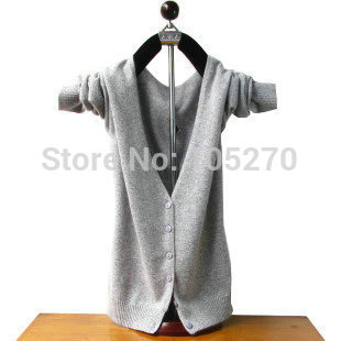 Winter  sweaters 2014 women fashion womens tops cardigans 2014  coat  winter jackets  clothing v neck solid color(China (Mainland))