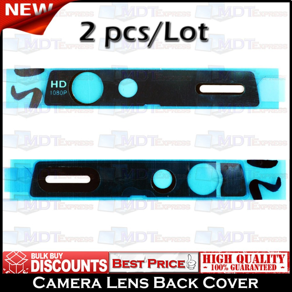 New 2 pcs 2pcs/lot Rear Back Camera Cover Cap Lens Glass Frame Replacement Repair Spare Part for Motorola Droid Razr XT910 XT912(China (Mainland))