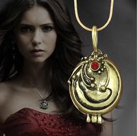 2015 Fashion Jewellry Vintage Necklaces & Pendants Vampire Diaries Elena Gilbert Necklace Verbena Necklace choker necklace