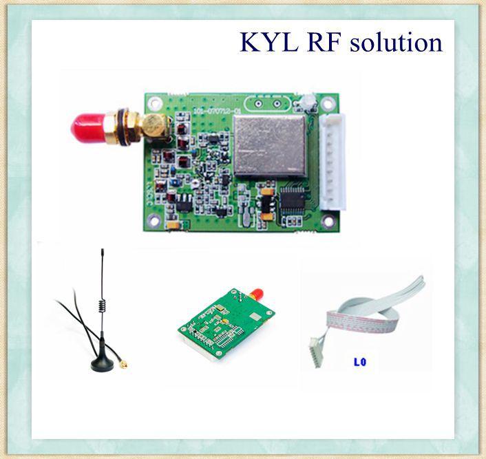 KYL-200L 2km-3km, 500mW-1W 433MHz RF Modules PTZ Wireless Controller RS232/RS485/TTL to Wireless(China (Mainland))